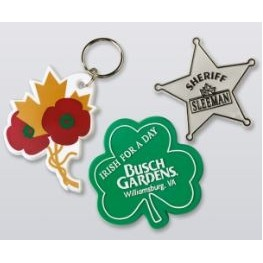 Custom-Made Badges/Key-Rings (4-Color)